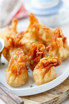 Fried Chicken Char Siu Dumplings